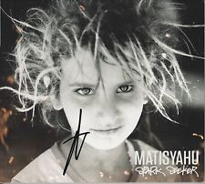 MATISYAHU Signed Autographed CD Digipack Booklet Spark Seeker FREE SHIPPING