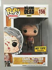 Funko Pop Carol Peletier Bloody Exclusive. The Walking Dead Limited Edition