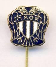 old PAOK Thessaloniki Football Club PIN BADGE Soccer GREECE GRC