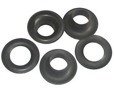 size 4. B2-4-DULL Black Spur Grommets /& Washers 50 QTY-Osborne-No 13352