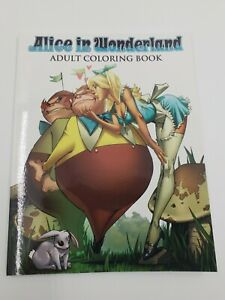 Alice in Wonderland Adult Coloring Book - Grimm Fairy Tales Zenescope (2016) New