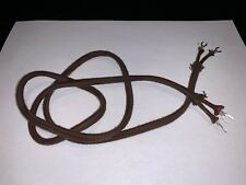 Antique Telephone Replacement Receiver Cloth Cord Only 36  inch 36