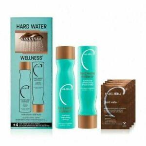 Malibu Hard Water Wellness Treatment Kit 9 oz Shampoo 9 oz Conditioner Free Ship