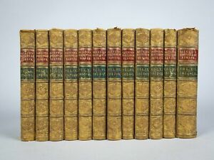 1853-1855 History of Europe by Sir Archibald Alison in 12 Volumes.