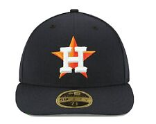 Men's Houston Astros New Era Navy Home Authentic Collection On-Field Size 8.5