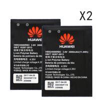 2pcs Original Battery HB824666RBC for Huawei E5577 Li-ion batterie 3000mAh Akku