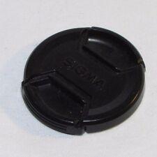 All Black Sigma LCF-55 II 55mm Lens Cap Made in Japan B01548
