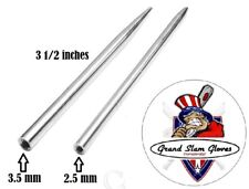 Baseball / Softball Glove Lacing Needle ~2 Pack ~2 Sizes ~Leather Lacing ~New
