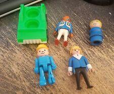Lot of 5 Vintage Fisher Price Playskool Mega Bloks Figures and Vehicle