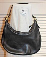 Coach Brown Leather Hobo Purse Handbag #B3Q-9342 Very Nice