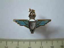 PARATROOPER BRITISH ARMY MILITARY CAP LAPEL TIE PIN ENAMELLED BADGE VETERAN