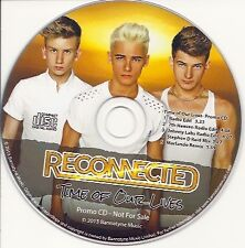 RECONNECTED Time Of Our Lives 2013 UK 5-track promo CD 2013