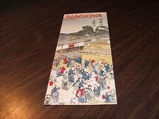 1981 MAP OF NAGOYA, JAPAN