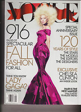 Vogue Lady Gaga Special Anniversary Issue September 2012 Fall Fashion For All