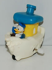 "1993 Donald Duck 2.75"" Wind-Up Boat Burger King Toon Town Action Figure Disney"