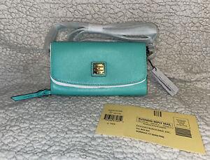 NEW Dooney & Bourke Saffiano Leather MIMI Crossbody/Clutch/Wallet NWT