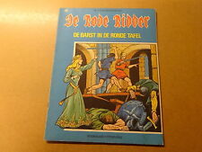 STRIP / DE RODE RIDDER 40: DE BARST IN DE RONDE TAFEL | Herdruk 1973