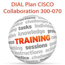 Plan de numérotation pour Cisco collaboration 300-070 ciptv 1-Video Training Tutorial DVD