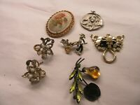 Vintage Jewelry A Lot of Jewelry 7 Pieces