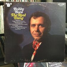 Bobby Bare ‎– The Real Thing - RCA Victor ‎– LSP-4422