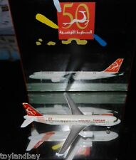 Schabak 1:600 Scale Diecast 926-210j Tunisair Airbus A320 New in Box