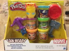 New Play-Doh Marvel Can Heads Heroes Assemble Set