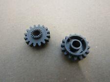 LEGO Technic Technik 6542 - 2x Zahnrad Gear - alt dunkelgrau, dark gray- 8466