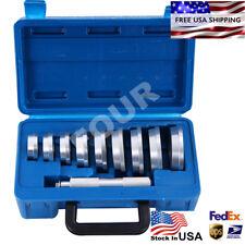 10 pcs Axle Bushing Bearing Race & Seal Install Driver Aluminum Tool Set