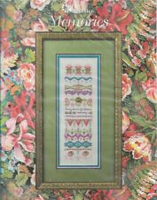 Just Nan MEMORIES JN185 2008 Pattern & Fabric for Counted Cross Stitch