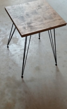 "Quaternary SET! Classic Hairpin Legs 15"" - 22"" Steel Metal Table Legs - Handmade"