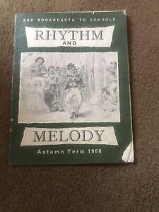 Vintage Sheet Music Booklet, Rhythem & Melody