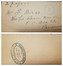 O) 1892 COLOMBIA, NEWSPAPER WRAPPER, AGENCIA POSTAL NACIONAL COLON-COLOM REPUBLI