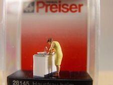 Decoración y piezas de escala H0 Preiser de plástico para modelismo ferroviario