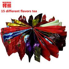 15 Different flavors Tea Chinese OolongPuErBlackGreenMilk OolongGinseng....