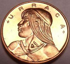 Rare Proof Panama 1968 Centesimo~Only 23,210 Minted~See R Panama Coins~Free Ship