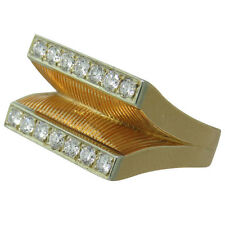 Retro 18k Gold Diamond Ring