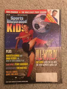 June 1999 Sports Illustrated For Kids All-World! Magazine Mia Hamm