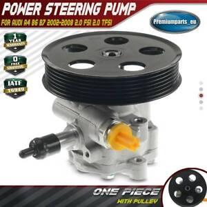 New Power Steering Pump for Audi A4 B6 B7 2002-2008 2.0 FSI 2.0 TFSI 8E0145153D