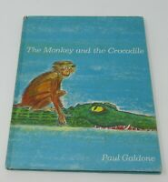 1969 The Monkey and the Crocodile by Paul Galdone Weekly Reader Book Club VTG
