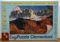 Clementoni Easy Puzzle 2000 Piece Jigsaw Snow Alpine Mountain