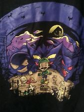 Mario Brothers Scary Tee w Lots of Purple Men's Medium NWOT