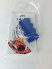 Giro Helmet Additional Pads For Fit Adjustment, Blue. NEW