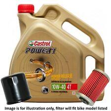 Suzuki GW 250 L4 Inazuma 2014 Castrol Power 1 Oil and Filter Kit