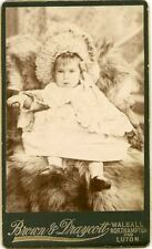 Children/Infants Collectable Antique CDVs (Pre-1940)