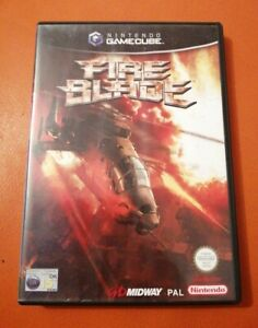 NINTENDO GAMECUBE GAME FIRE BLADE COMPLETE WITH MANUAL TESTED WORKS FINE