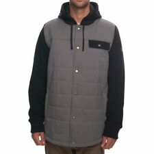 2019 686 Bedwin Insulated Jacket Snowboard Mens L Large Charcoal Ra317