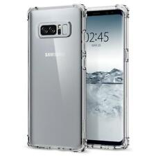 New Samsung NOTE 8 Crystal Clear Case Flexible TPU Bumper Corner Case New