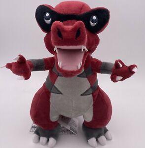 """Krookodile Plush Doll Soft Toy Stuffed Animal Teddy 11"""""""