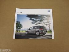 2012 Volkswagen VW Golf 2.5L TDI sales brochure dealer catalog literature