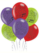 "6 x 11"" ninja turtles half shell fête d'anniversaire décoration latex ballons"